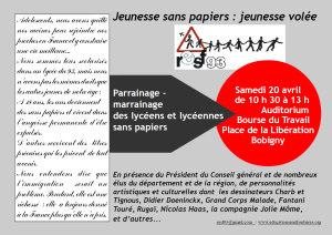 Affiche RESF 20 avril