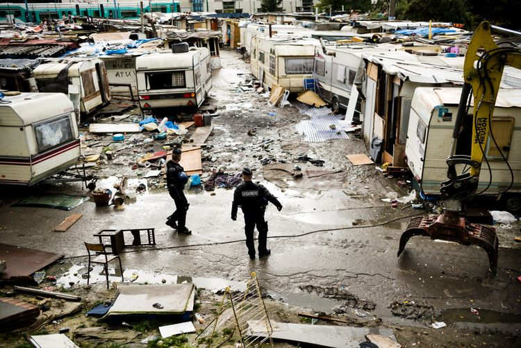 Bidonville des coquetiers à Bobigny : séparer des familles et évacuer des enfants n'est certainement pas unesolution