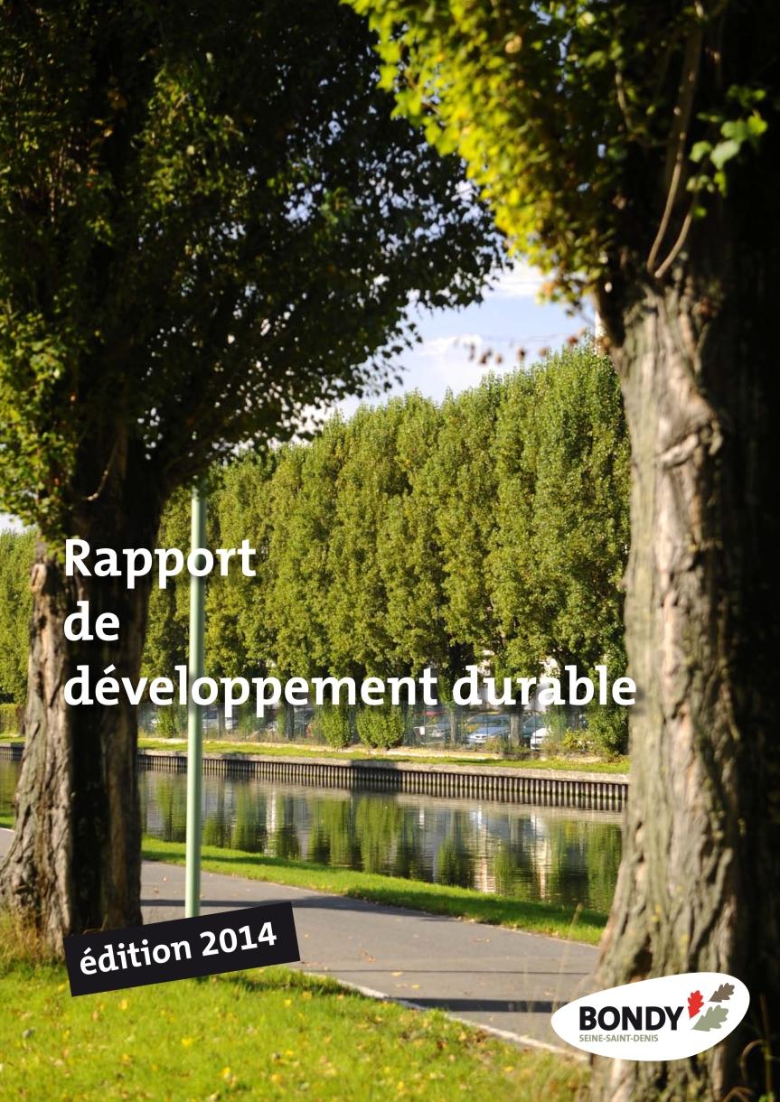 Présentation du rapport sur le développement durable de la ville par Boujemâa El Kasmi // Conseil Municipal du 27 novembre2014