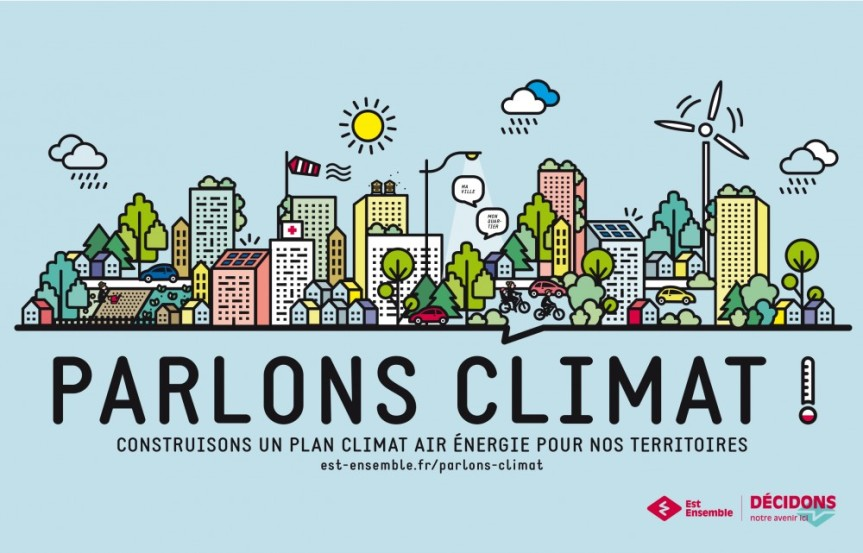 Participer aux premiers ateliers de concertation du Plan Climat d'Est Ensemble – Les 20 et 21mai