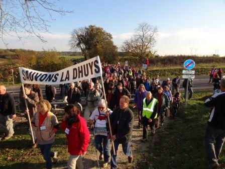 Manifestation Fort de Vaujours / BoisGratuel