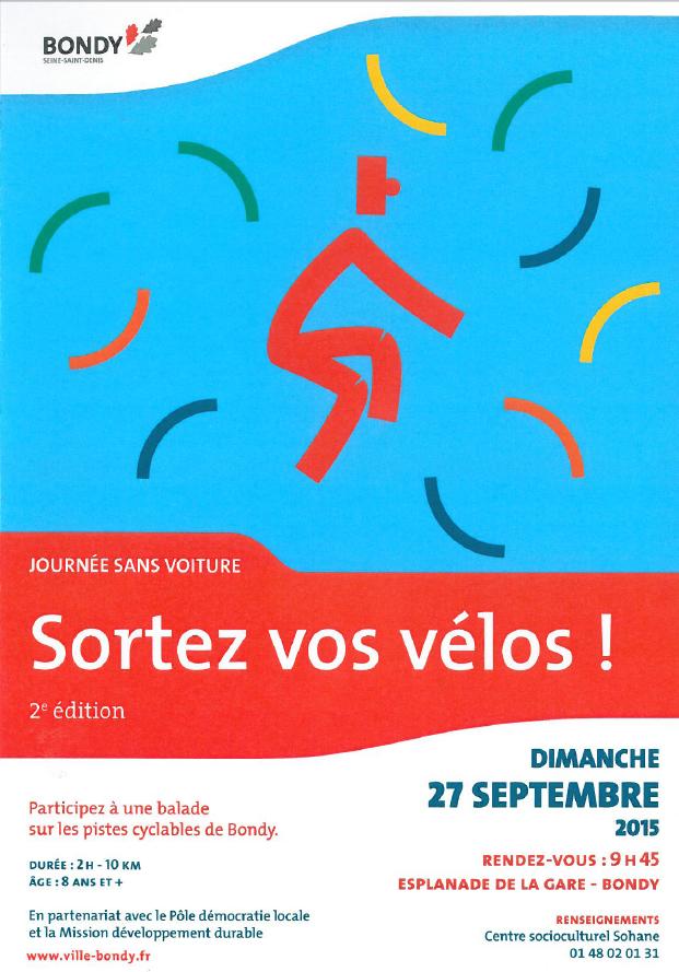Le 27 septembre, sortez les vélos ! 2 èmeédition