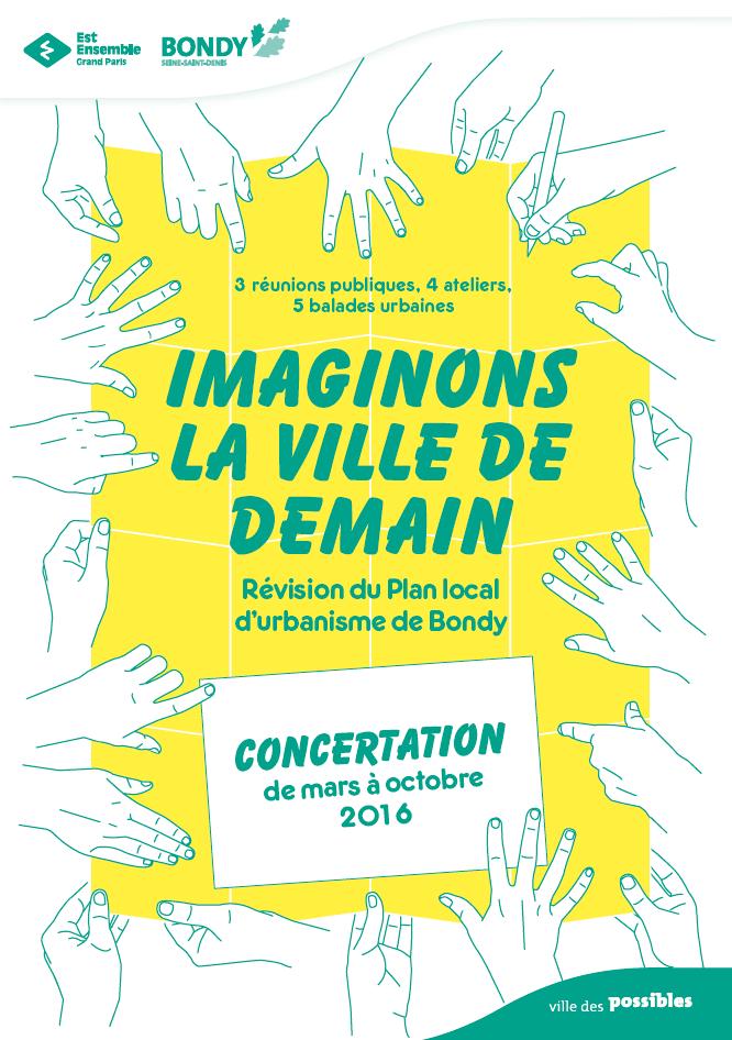 Bondynois(es), participez à la révision du Plan Local d'Urbanisme