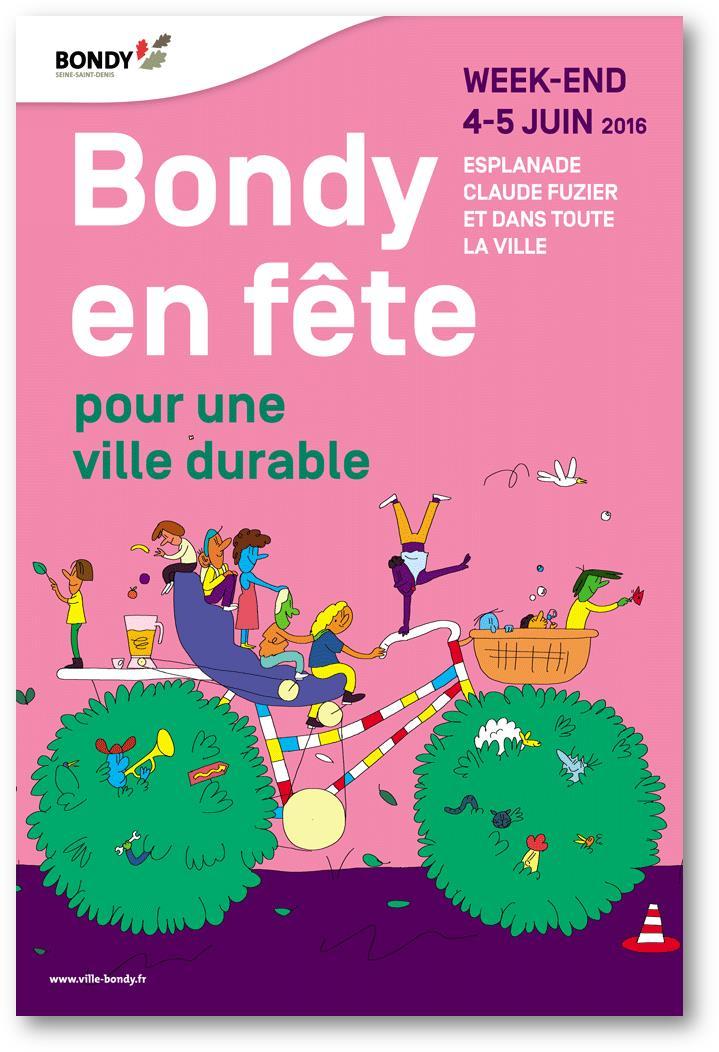 Semaine Européenne du Développement Durable – Bondy en fête!!