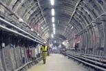 Galerie de liaison sud au Laboratoire souterrain de Meuse/Haute-Marne.
