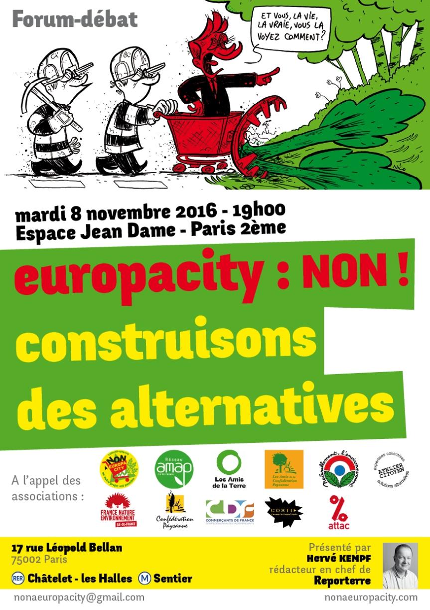 Europa City – Construisons desalternatives