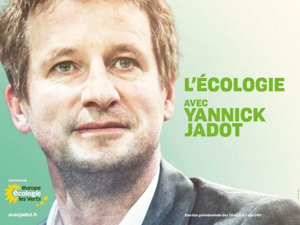 Avec Yannick Jadot, en 2017, donnons toute sa place à l'écologie