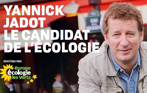 Yannick Jadot, le candidat de l'écologie